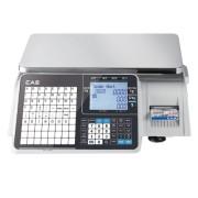 Весы с печатью этикетки CAS CL-3000-J-15B