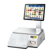 Весы с печатью этикетки CAS CL-7000-15S