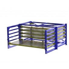 Cтеллаж для хранения листового металла 3000х1500 мм