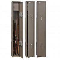 Оружейные сейфы по типу замка ключевой