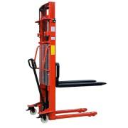Штабелер гидравлический ручной EP MSE 1000/3000 (1000 кг, высота подъема 3000 мм, 1150x560 мм)