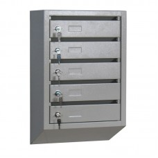 Металлический почтовый ящик ПМ-5