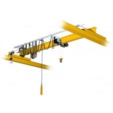 Кран мостовой однобалочный опорный однопролётный г/п 5 т пролет 7,5 м