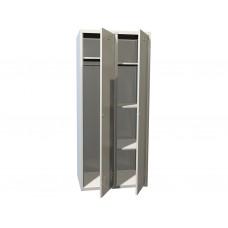 Металлический шкаф для раздевалок ПРАКТИК LS-21U