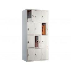 Металлический шкаф для раздевалок ПРАКТИК LS-34