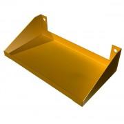 Полка удлиненная для верстака металлического