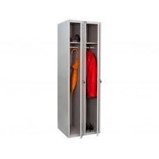 Металлический шкаф для раздевалок ПРАКТИК LS-21