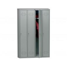Металлический шкаф для раздевалок ПРАКТИК LS-41