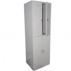 Металлический шкаф для раздевалок ШРМ-24