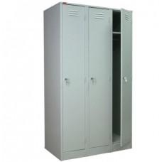 Металлический шкаф для раздевалок ШРМ-33