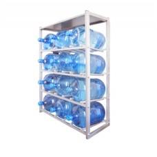Стеллаж для хранения 12-ти бутылей с крышей