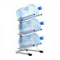 Стеллажи для хранения бутылей с водой