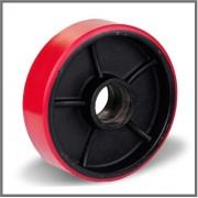 Рулевые колеса 160х50 (полиуретан/сталь)