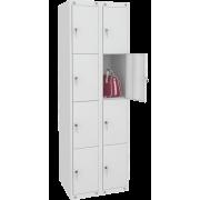 Цельносварной шкаф для личных вещей ШР 28-600