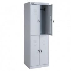 Металлический шкаф для раздевалок ШРК 24-600