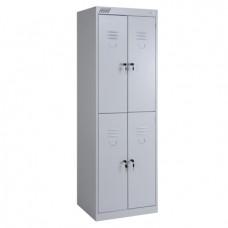 Металлический шкаф для раздевалок ШРК 24-800