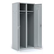 Металлический шкаф для раздевалок ШРМ-С/800