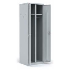 Металлический шкаф для раздевалок ШРМ-С